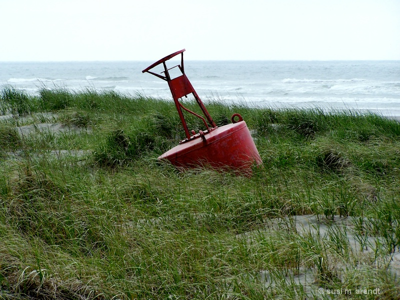 Bell Buoy on the Dunes