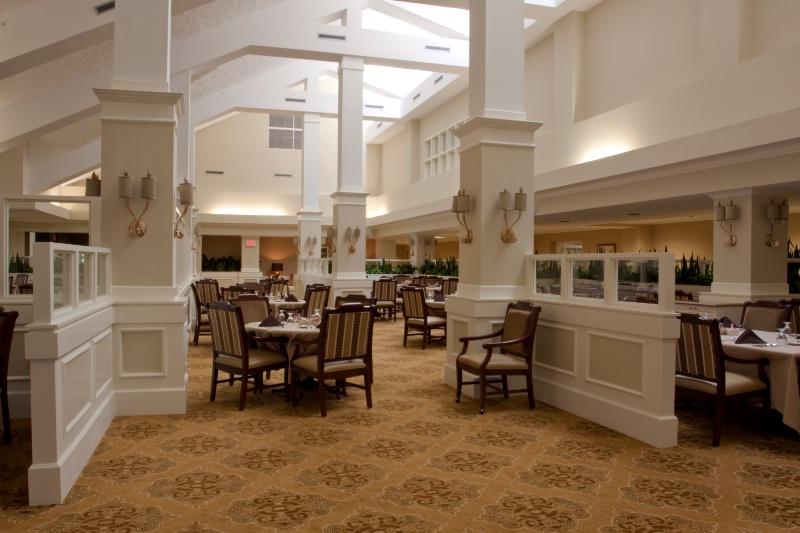 lounge glass walls