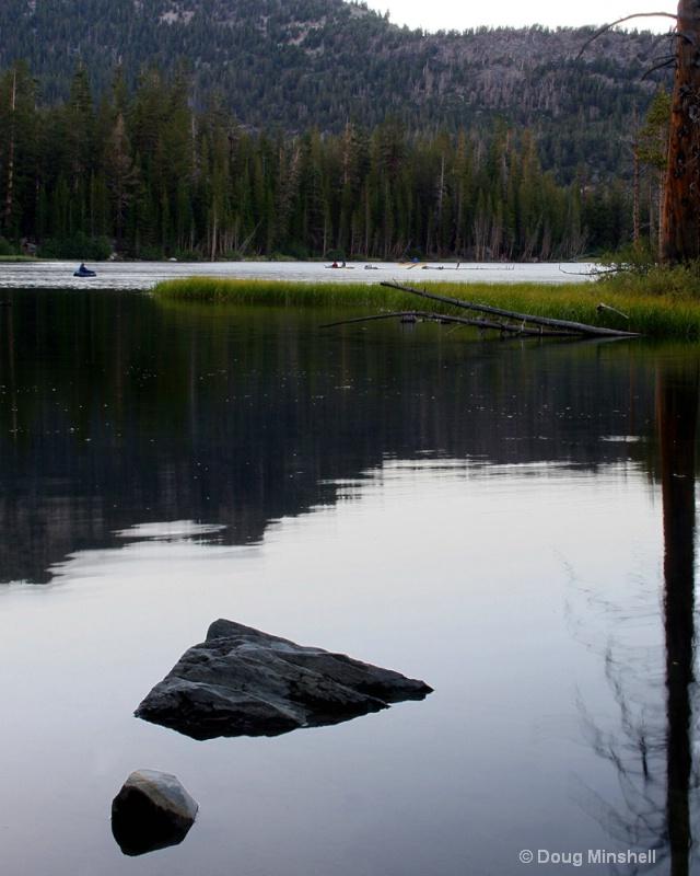 Twilight on Lake Mamie