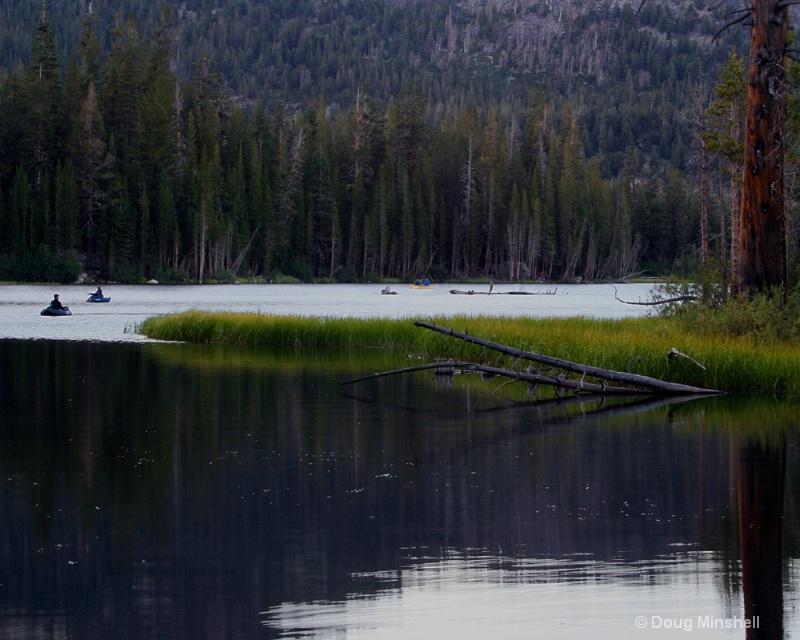 Dusk on Lake Mamie