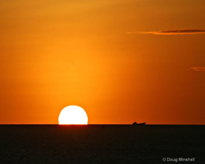 Last light in Bonaire