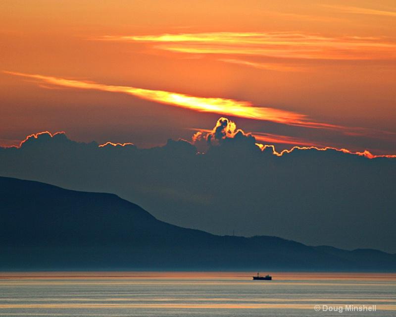 Quiet Sunset over Ireland