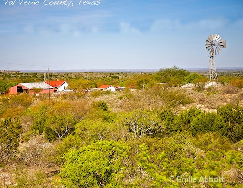 Typical Ranch in Val Verde County