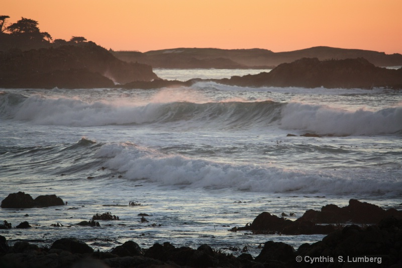 Sunset in Pebble Beach, California 3