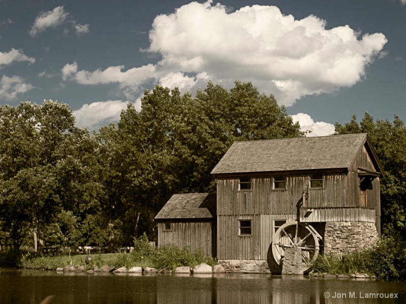 Colorized Old Mill