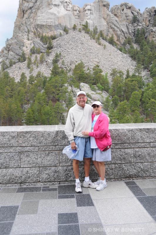 MOUNT RUSHMORE WARREN AND SHIRLEY