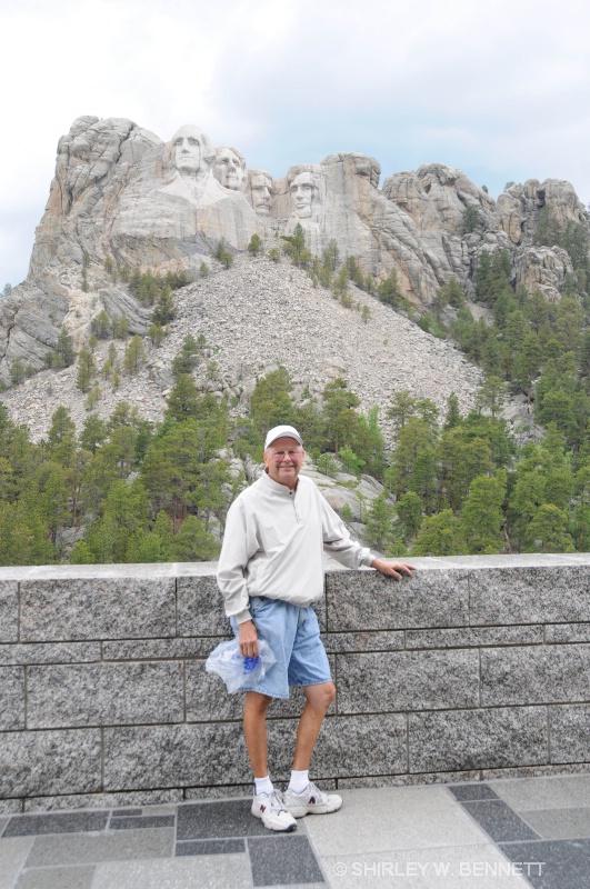 WARREN AT MOUNT RUSHMORE