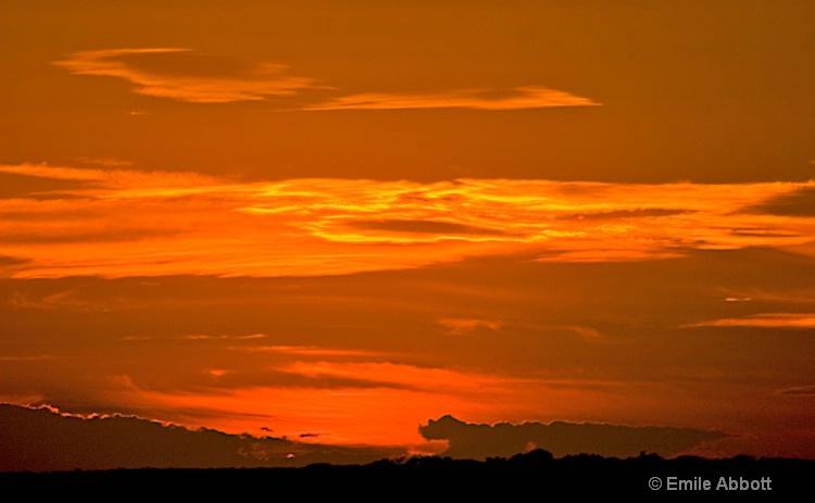 Texas Sky on Fire