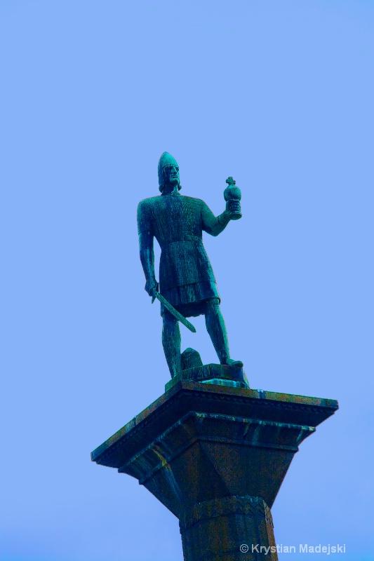 Statue in Trondheim