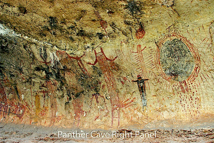 Right Panel of Panther Cave