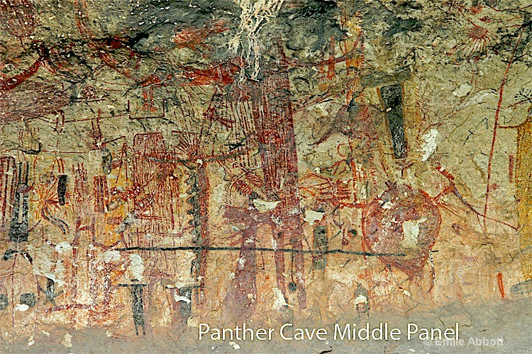 Middle Panel of Panther Cave