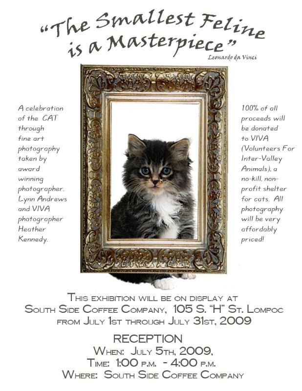 VIVA Benefit Show July1-31, 2009