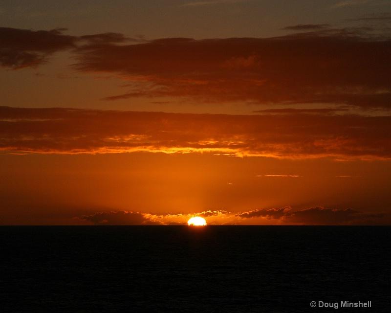Cloudy Caribbean Sunset 4