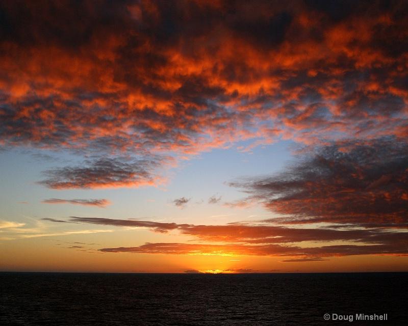 Cloudy Caribbean Sunset 2