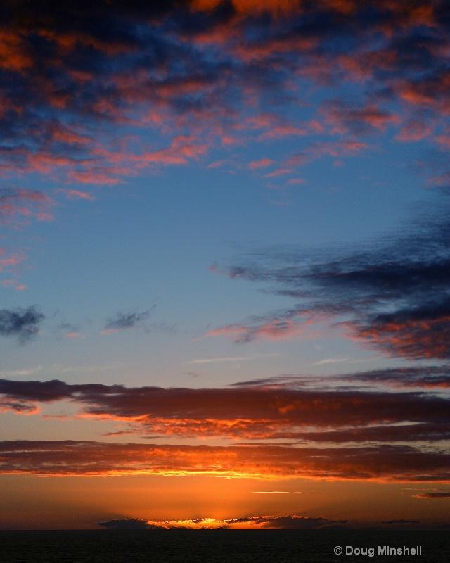 Cloudy Caribbean Sunset 1