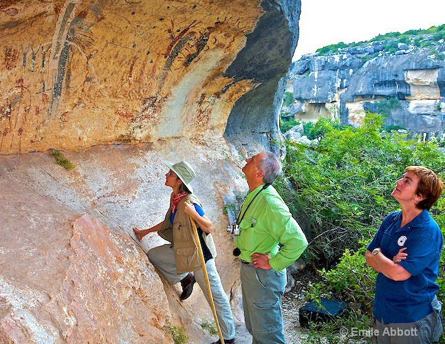 Examining the Pictographs