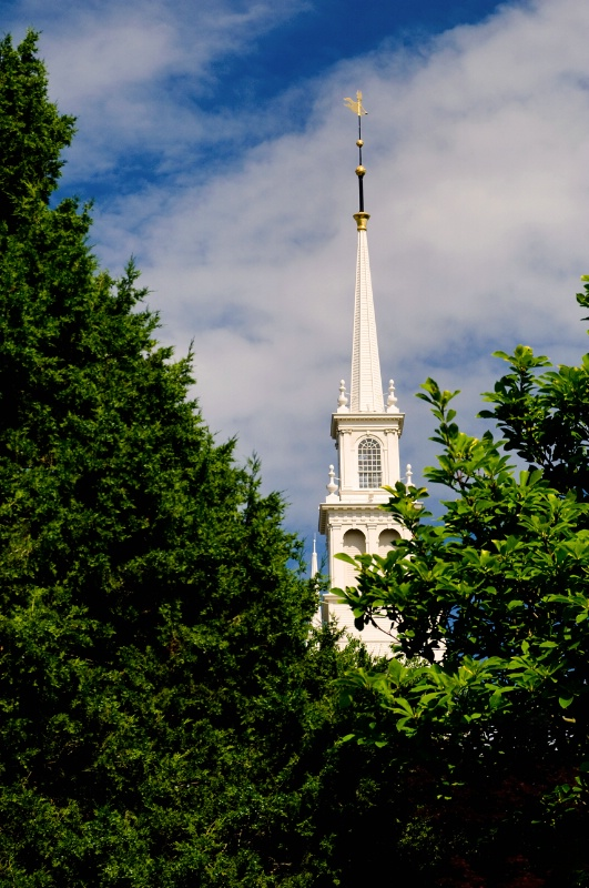 Rhode Island Church Steeple