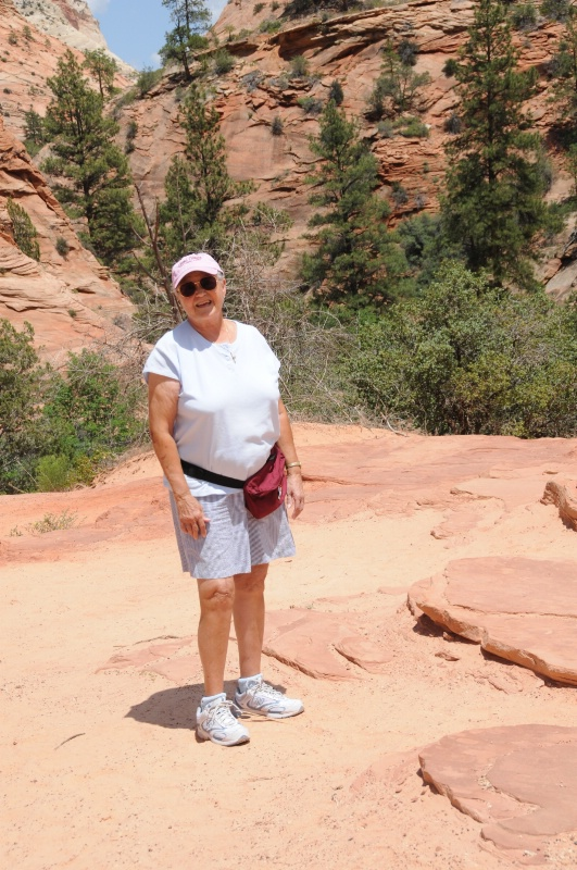 SHIRLEY AT ZION NATIONAL PARK
