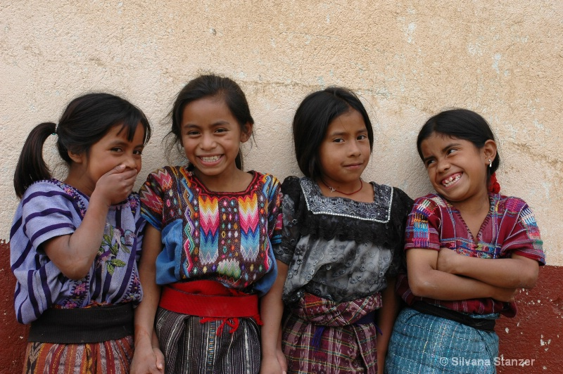 Guatemala Girls giggling