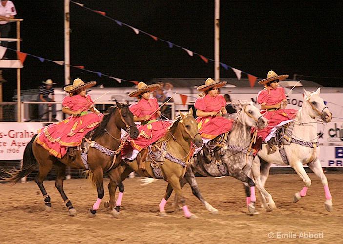 Four of the Escaramuza