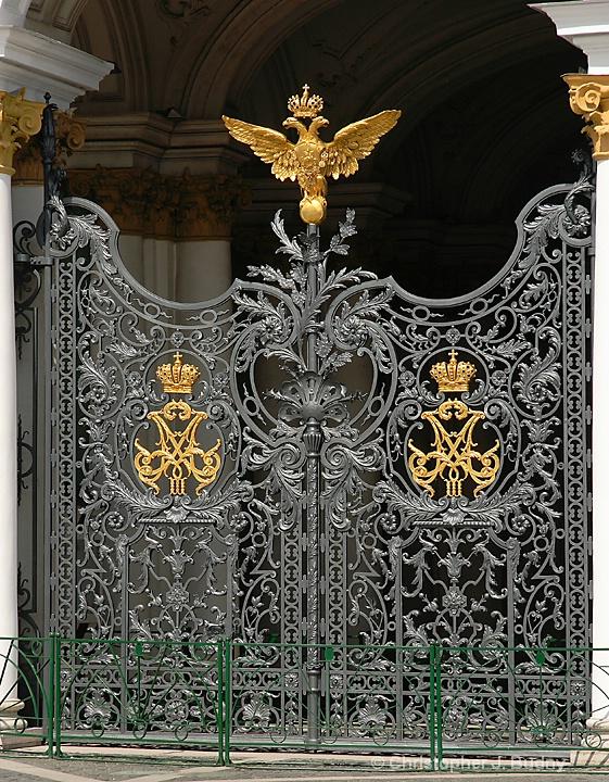 Winter Palace Gates