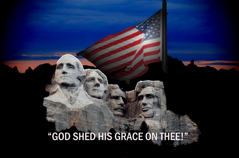 GOD SHED HIS GRACE ON THEE!