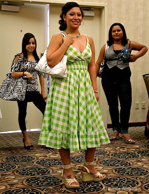 Claudia Mata,  Jasmine Robles & Cristy Hill