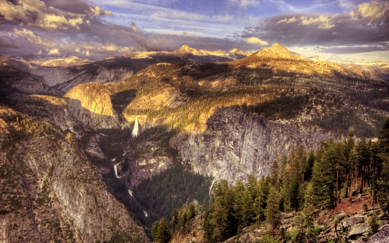 View from Near Glacier Point