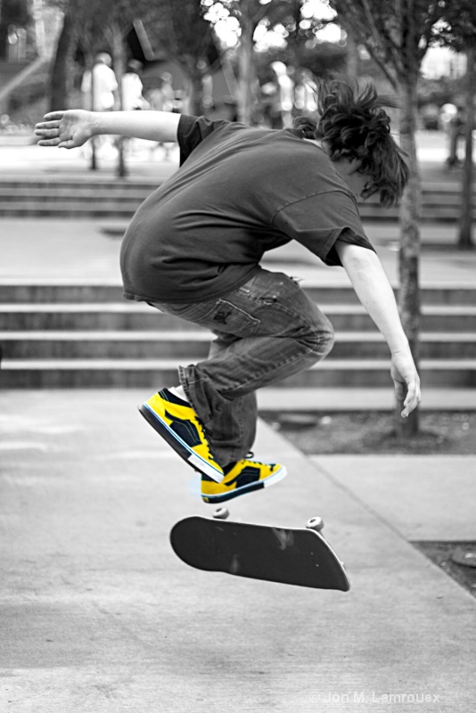 Flying Yellow Shoes II