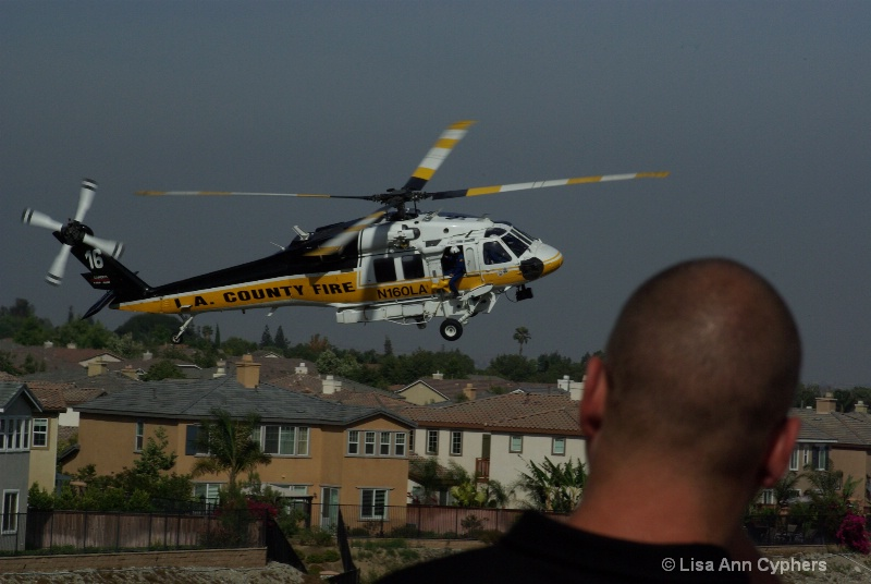 LACO fire helicopter