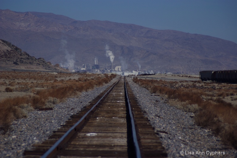 Rails to Trona, Ca