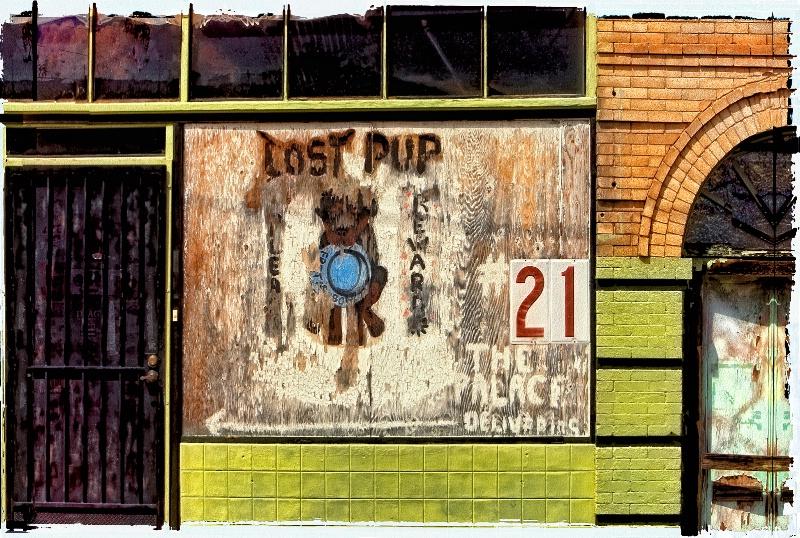 The Lost Pup, Bisbee, AZ.