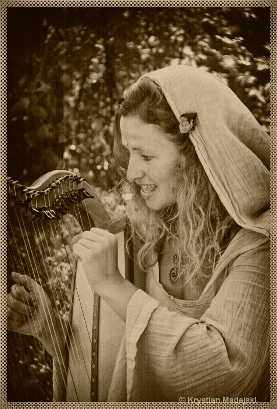 Harp girl OLD
