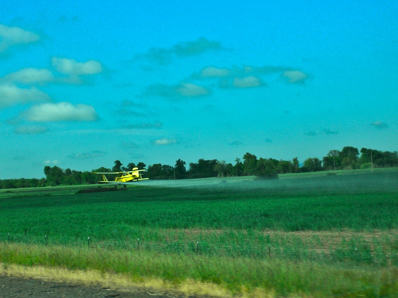 Ag Plane Spraying, Oregon