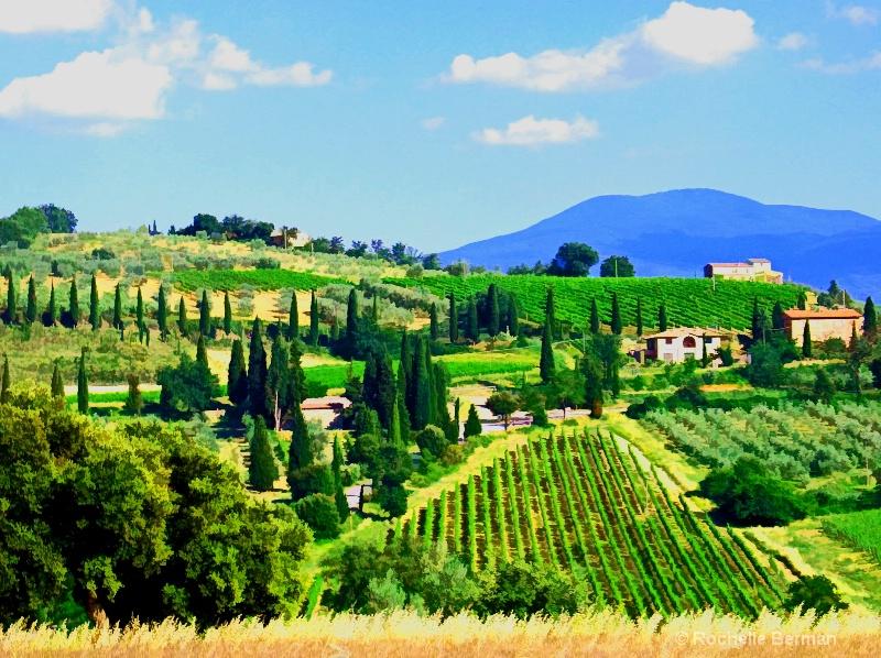 Italy, Tuscany Hills