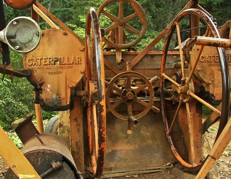 Grader Hand Controls, Logging-Oregon