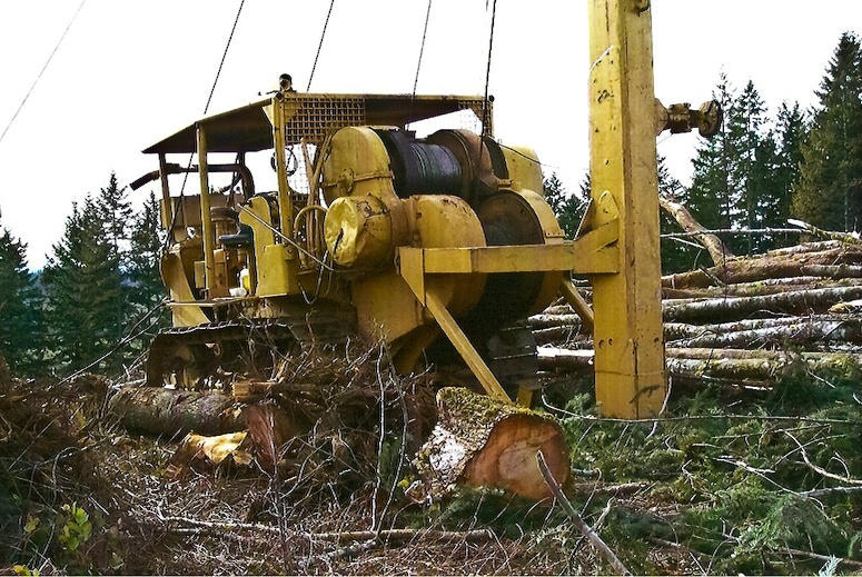 Set Up and Ready for Work, Logging-OR