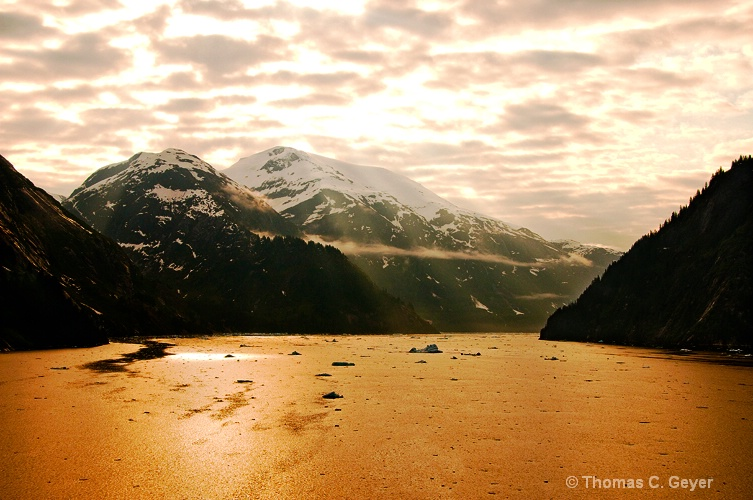 Tracy Arm at 6 AM