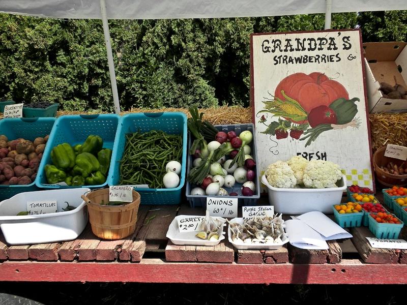 Fresh Produce Stand, Oregon