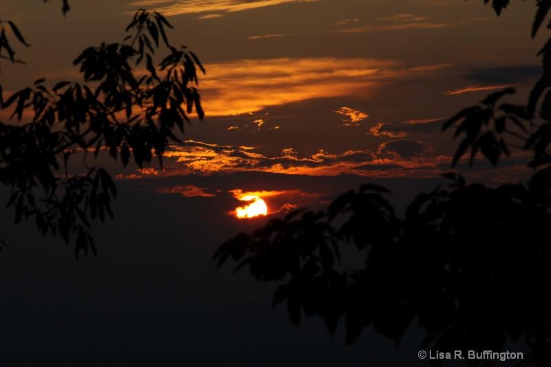 Sunset on Pilot Mountain