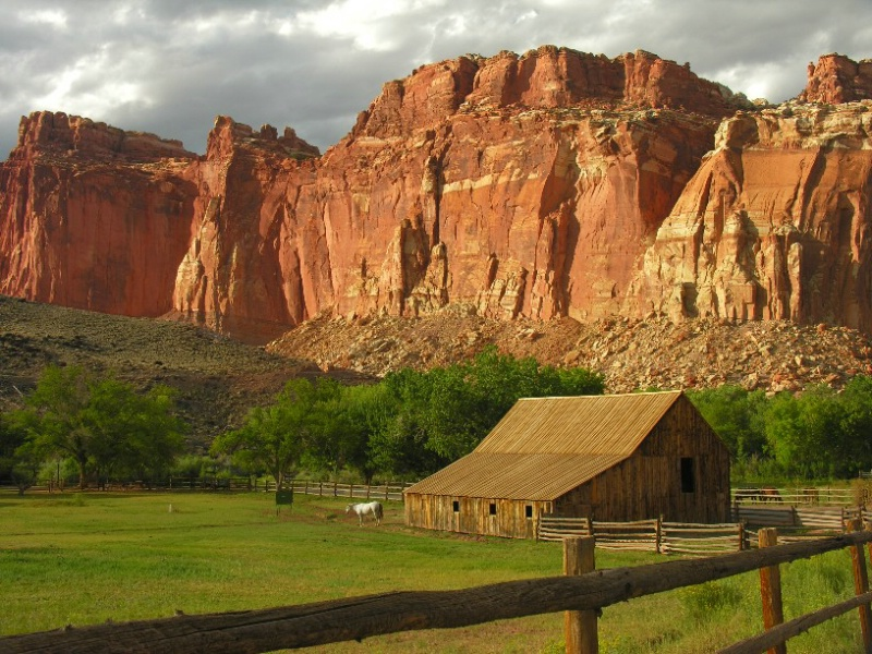 Barn in Capitol Reef