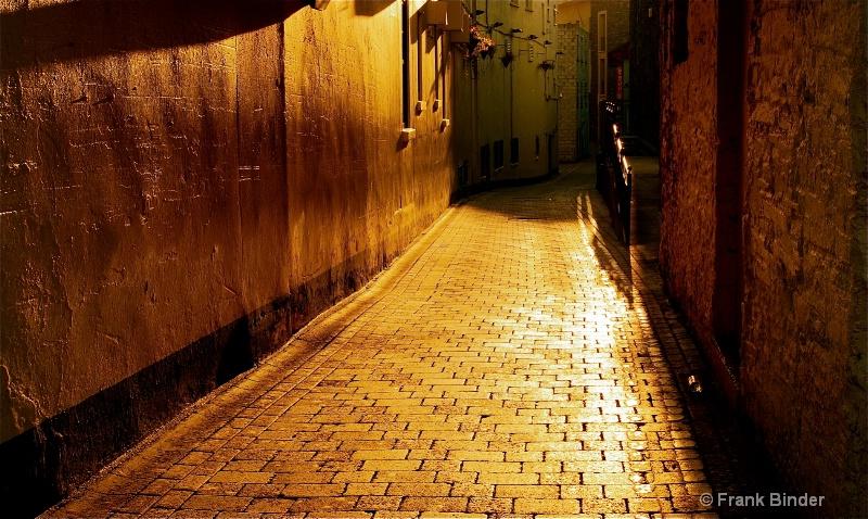 Alley; Killarney, Ireland