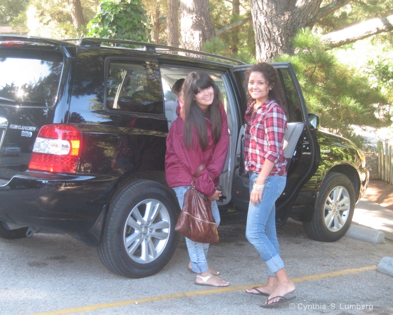 Alisha and Alona - Big Sur, 2009