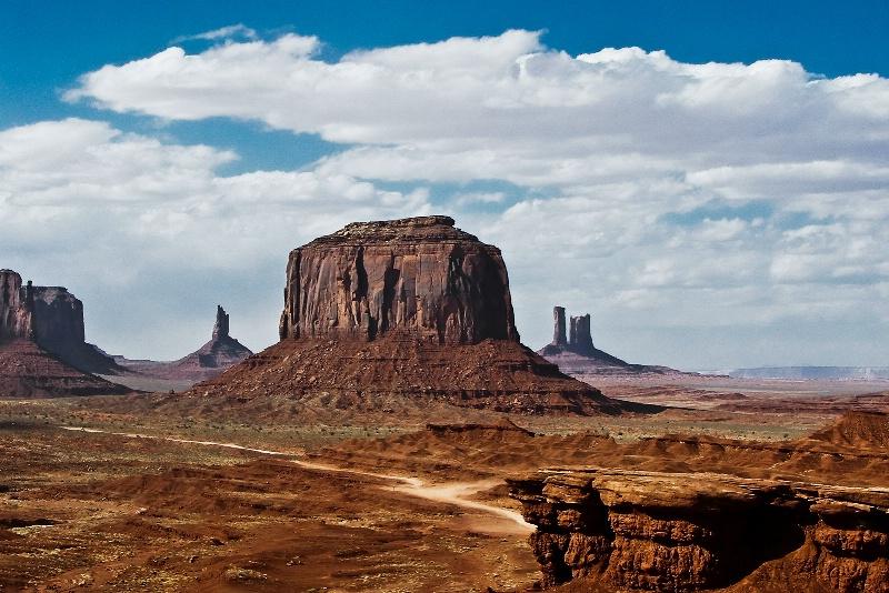 Merrick Butte, Monument Valley-Utah