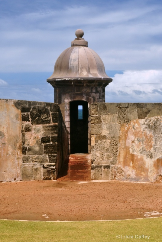 Old fort watch tower