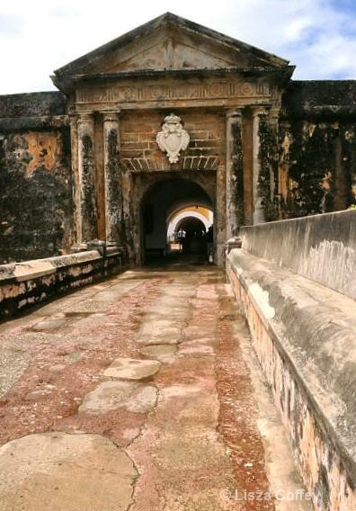 The old fort entrance