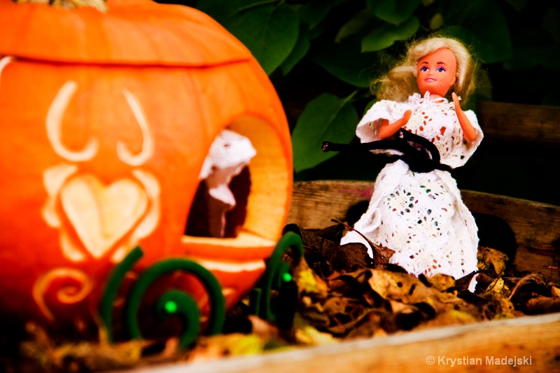 Cindirella and pumpkin's carriage