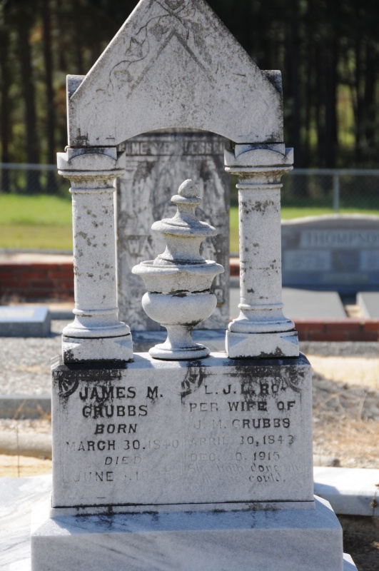 TOMB OF GREAT-GRANDFATHER GRUBBS