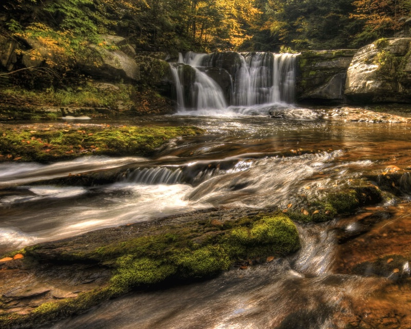 Falls on Hankins Creek
