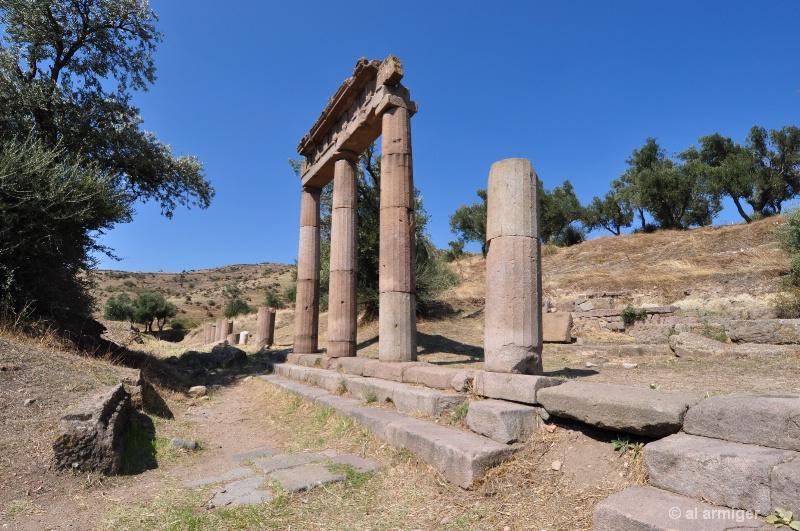 ASCLEPION shrine Greek God Medicine  dsc 0441